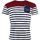 Religion Rugby - T-Shirt de Rugby Marinière - L'aquitaine - XL