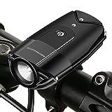 MOREZONE Luce a LED per Biciceltta USB Ricaricabile Super Luminoso Torcia Fanale...
