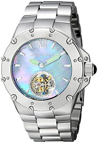 Android Men's AD636BS Divemaster Enforcer 45 Automatic Tourbillon Watch