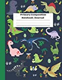 Primary Composition Notebook -Journal: Dinosaur Era - Primary Story Journal | Story Picture Space With Dotted Midline | Grades K-2 School Exercise ... for Kids|Composition Notebook Jurassic Period