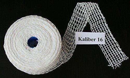 50m Kaliber 16 Bratennetz / Rollbratennetz / Räuchernetz für Einfüllrohr mit einem Durchmesser von ca. 125 mm