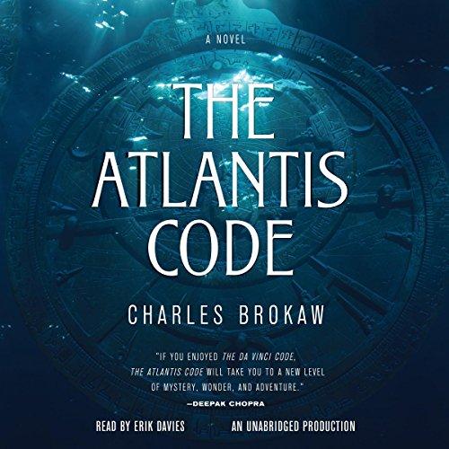 The Atlantis Code audiobook cover art