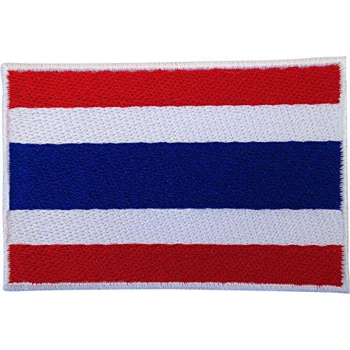 Parche bandera Tailandia planchar coser pantalones