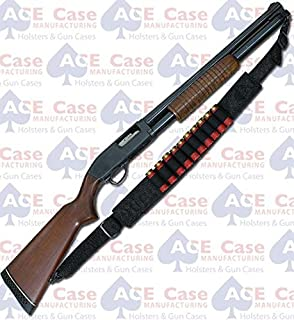 Ace Case Rock Island M5 Pump Shotgun Ammo Sling (10 Shells) - Made in U.S.A.