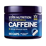 Pure Caffeine Capsules by Star Nutrition | Pills to Increase Alertness & Energy