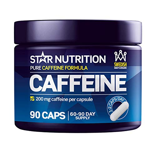 Pure Caffeine Capsules by Star Nutrition   Pills to Increase Alertness &...