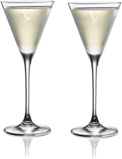 Grey Goose Martini Cocktail Glasses - Set of 2