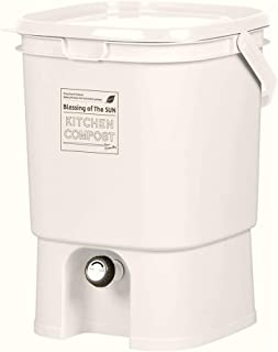 Livewell Bokashi (Bio Organic Fertilizers) Composter, Countertop Kitchen Compost Bin Simple Use in Home, Easy Start, Eco Friendly No Need Electricity, Bokashi is Not included,19Liter (5Gallon)