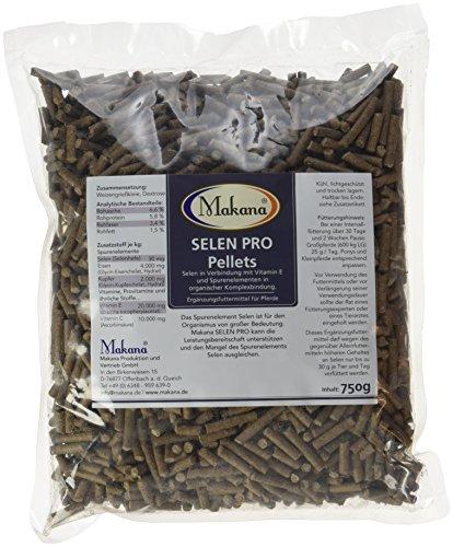 Makana Selen PRO Pellets mit Vitamin E, 750 g Beutel (1 x 0,75 kg)