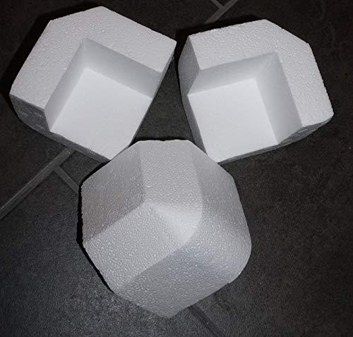 Styroporecken Styropor Kantenschutz Eckenschutz Polsterung Verpackungsmaterial Füllmaterial eckig (50)