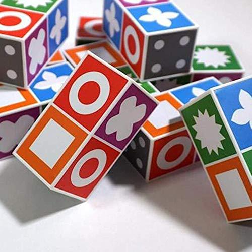 QLPXY Juego de mesa de rompecabezas, juego de mesa de locura, juego de mesa educativo para niños y niñas
