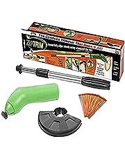 RANRAN Home Grass Trimmer Portátil Mini Escardador, Podador De Malezas Jardín, Desmalezadora Eléctrica para El Cuidado del Césped