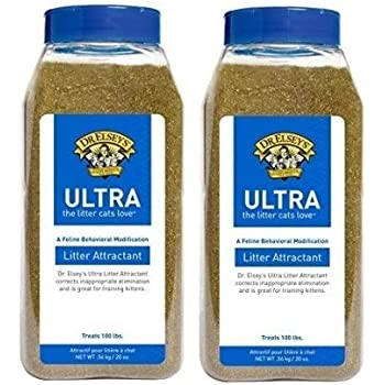 2 Pack! Dr. Elsey's Cat Attract Litter Additive (20 oz)