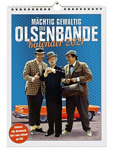 Die Olsenbande-Kalender 2021 (Inklusive DVD) [Import]