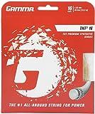 Gamma TNT2 16G Tennis String, White