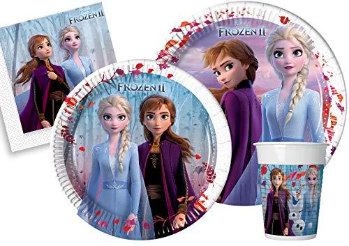 Ciao Y5054 Disney Frozen II - Juego de mesa para 8 personas...