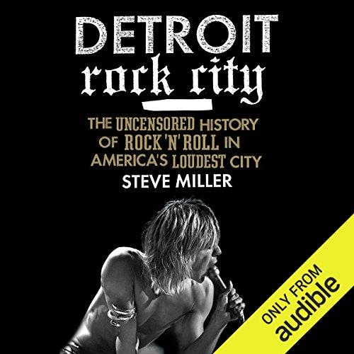 Detroit Rock City audiobook cover art