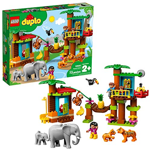 LEGO DUPLO Town Tropical Island 10906 Building Bricks (73 Pieces)