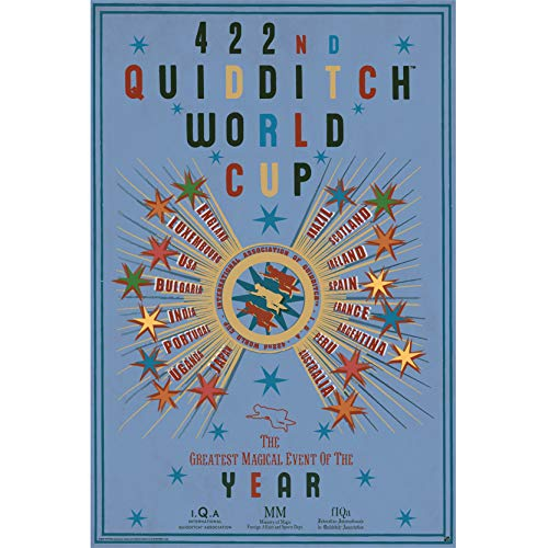 ABYstyle - Harry Potter - Poster - Quidditch World Cup - (91.5x61)