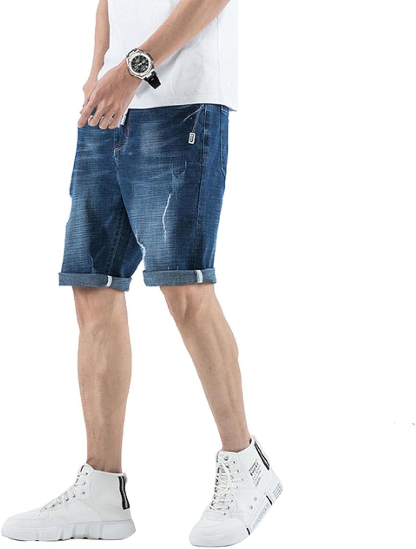 WoJogom 2021 Fashion Summer Short Jeans Trousers for Men Casual Men Shorts Denim Shorts Plus Size