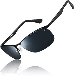 Polarized Sunglasses for Men Driving glasses Rectangular...