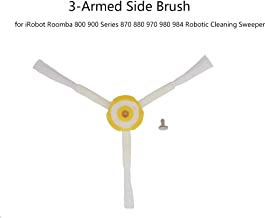 Lixada Robot Vacuum Cleaner Parts Side Brush Replacement for iRobot Roomba 800 900 Series 870 880 970 980 984 Robotic Cleaning Sweeper