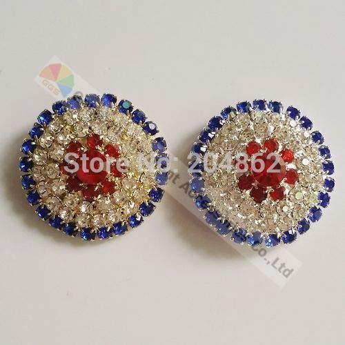 royal blue crystal browband - 9