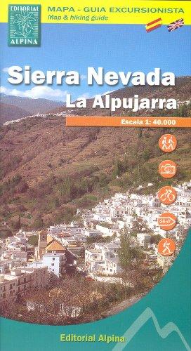 Sierra Nevada - La Alpujarra (Spanien, Pyrenäen) 1:40.000 Topographische Wanderkarte ALPINA