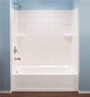 bathtub walls surrounds amazon com