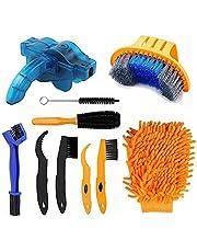 Fietsreinigingsborstelset, fietsreinigingsborstelgereedschap, fietsreinigingsborstel, gereedschapsset, reinigingsborstel voor fiets, kettingreiniger, gereedschapset, Clean Brush Kit, reinigingsborstelset