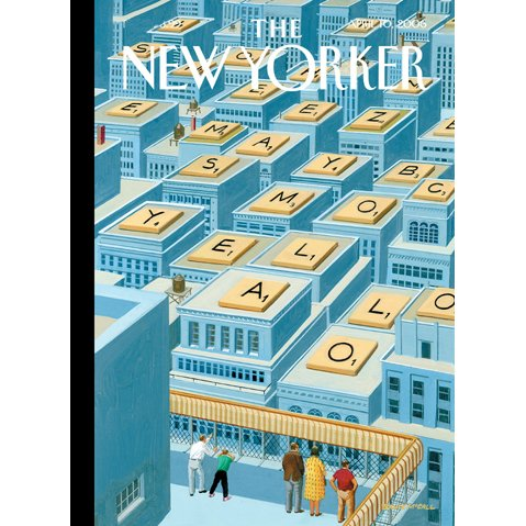 The New Yorker (April 10, 2006) cover art