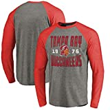 YUNMO Tampa Bay Buccaneers Rugby Match Training T-Shirt Décontracté Sweat À Manches Longues (Size : XXL)