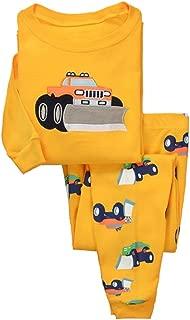 Truck Sleepwear Little Boys Cotton Pajama Set T-Shirt Pant Sets