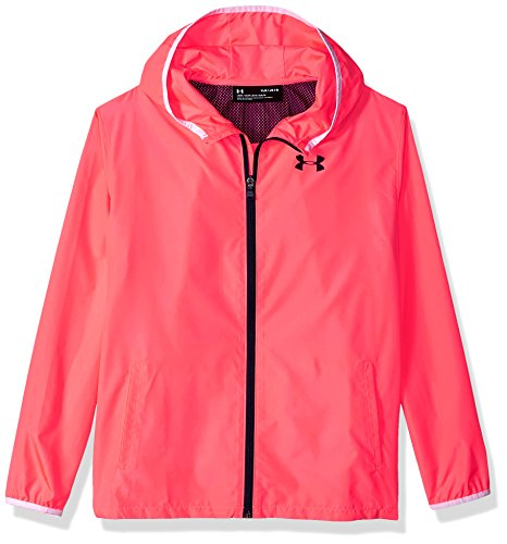 Under Armour Mädchen Sack It Full Zip Jacket Jacke, Orange (Brilliance), LG