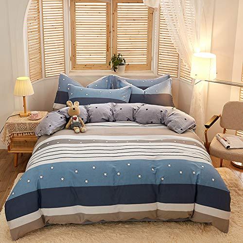 ALRZ Sábanas bajas: juego de sábanas bajeras suave encogimiento y resistente a la decoloración para tu dulce sueño
