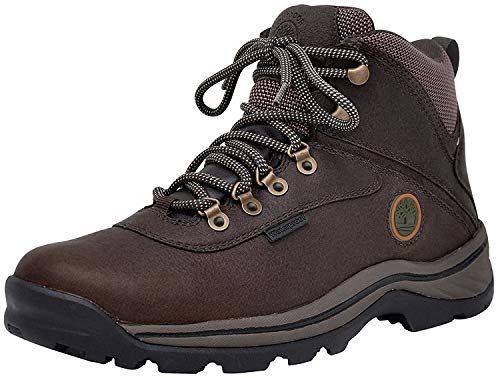 Timberland Men's White Ledge WP Mid Gaucho/Brown Boot 8.5 Men US