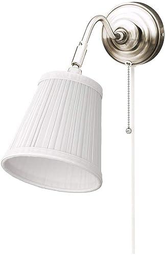 Wall lamp éclairage, lumière Murale Minimaliste Moderne, Phare de lit de Chambre à Coucher, Salle de Bain Salle de Bain Maquillage Lampe Argent (16  38cm)