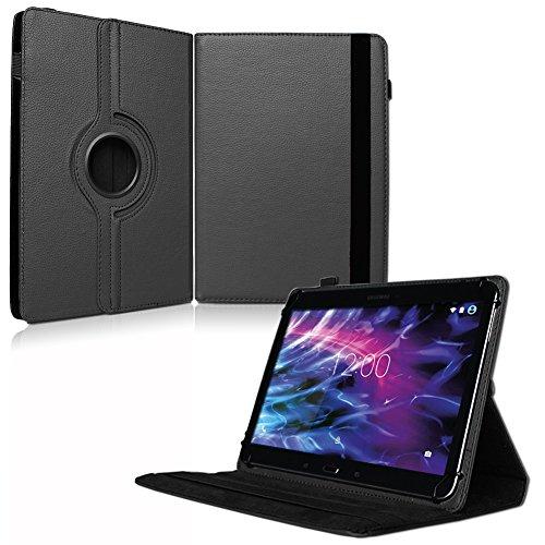 NAUC Tablet Tasche für Medion Lifetab P8912 Hülle Schutzhülle Cover Hülle Schwarz