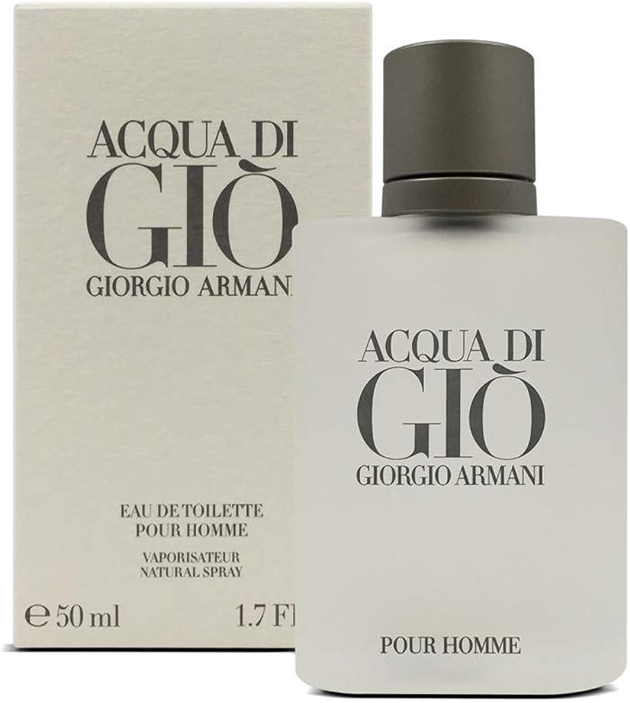 Giorgio armani acqua di giò,eau de toilette per uomo, 50 ml 126426