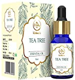 The Beauty Co. Tea Tree Oil for Acne and Blemish-Free Skin - 15ml | Organic & Pure Undiluted |...