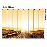 Fototapete Sonnenuntergang Ozean Natur KT262 Größe: 420x270cm Tapete Erde Meer Sonne - 4