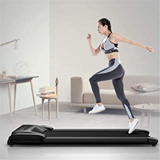 JNWEIYU Treadmills for Home Folding with Incline Home Treadmill Running Machine Running Incline LCD Fixed Slope Wristwatch with Remote Control