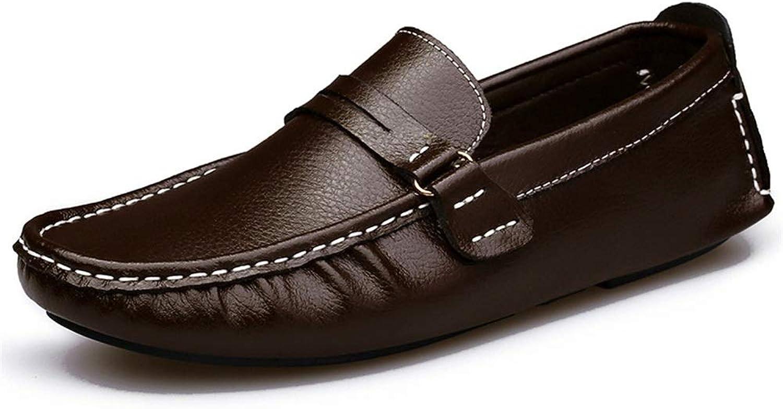 schuheDQ Herren Leder Casual Driving Schuhe Komfort Slip-on Slip-on Slip-on Penny Slipper Stiefelschuhe Mokassin-Gommino  6adfca