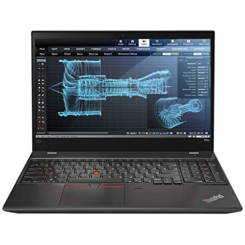 Lenovo ThinkPad P53 Workstation 15.6' 32GB 512GB Intel Core i7-8665U,Black(Renewed)