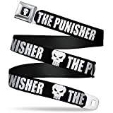 Buckle-Down Seatbelt Belt The Punisher XL