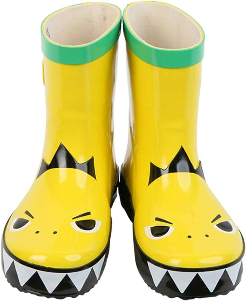 Candy-Baby Kids Boys Girls Rubber Rain Boots/a Children's Rubber Rain Boots