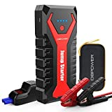 DBPOWER 2000A 19200mAh Portable Car Jump Starter Auto Battery Booster Pack with Dual USB Outputs,...