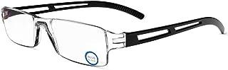 KoKoBin Frameloze leesbril zichthulp met blauw licht flikkermiddel anti-blauw licht leeshulp voor dames en heren