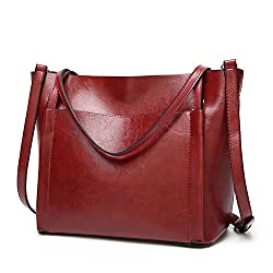 Túi xách nữ Fayland Women Stylish Leather Hobo Handbags Large Capicity Messenger Shoulder Bag Satchel Tote Bags (Amazon)