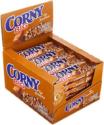 Corny Big Brownie Limited Edition, Müsliriegel, 24er Pack (24 x 50 g)